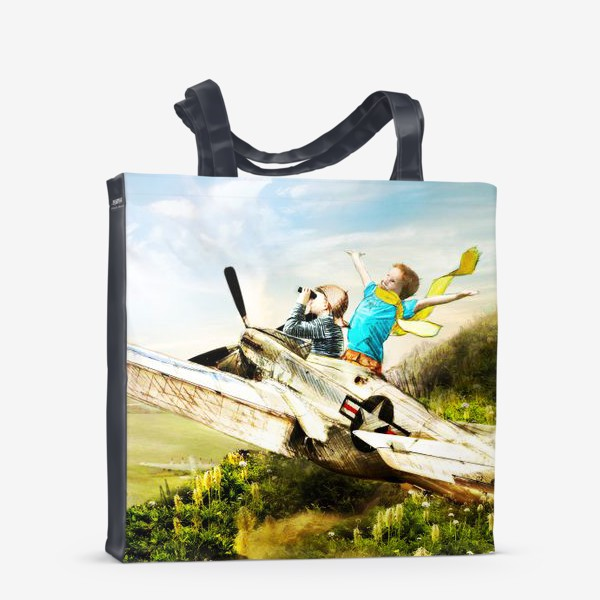 Сумка-шоппер «Будущие летчики»