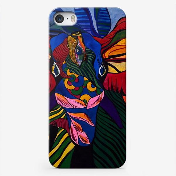 Чехол iPhone «Трехглазый слон»