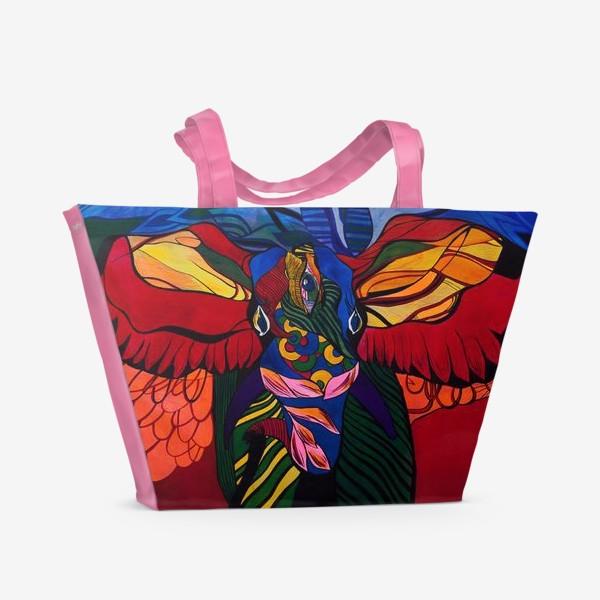 Пляжная сумка «Трехглазый слон»