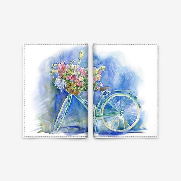 Обложка для паспорта «Велосипед»