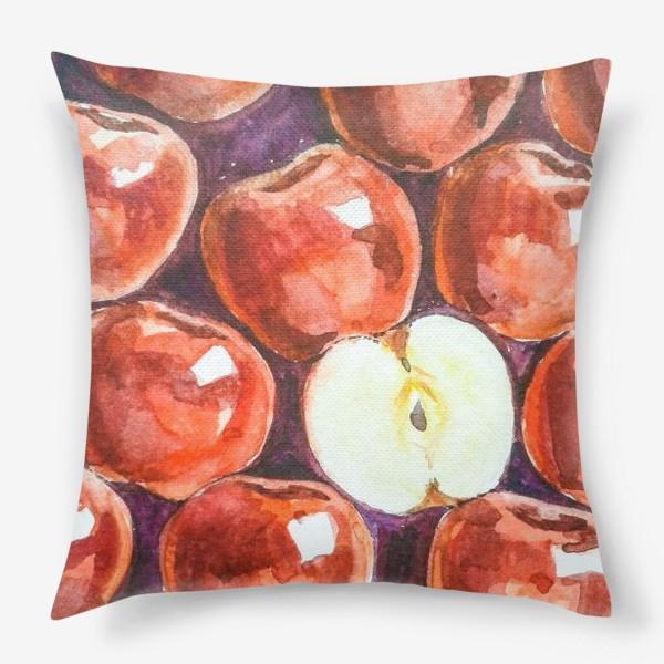 Подушка «Яблоки»