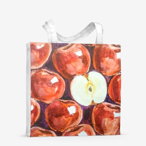Сумка-шоппер «Яблоки»