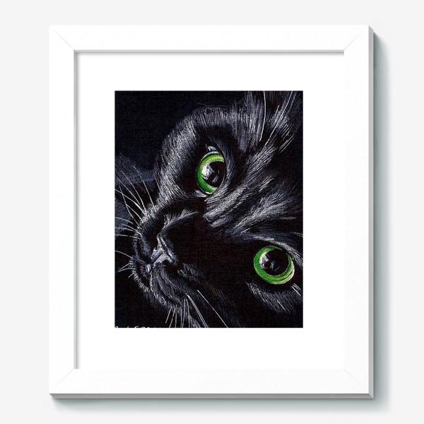 Картина «Черный кот»