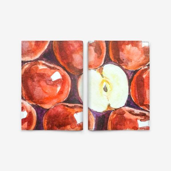 Обложка для паспорта «Яблоки»