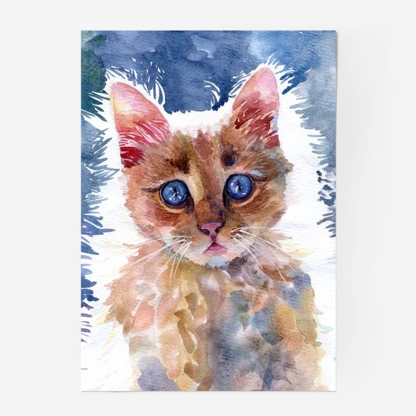 Постер «Рыжий котенок»