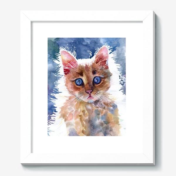 Картина «Рыжий котенок»