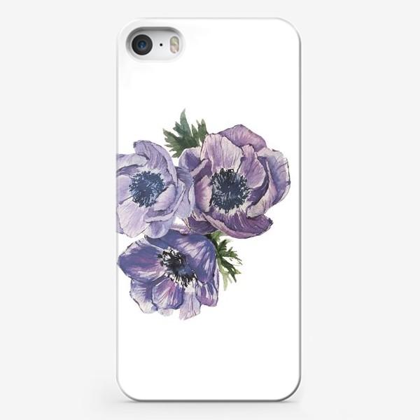 Чехол iPhone «цветы Анемоны»