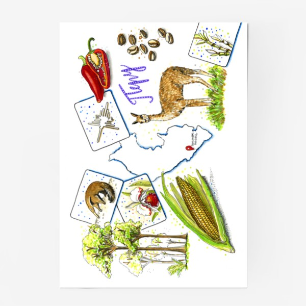 Постер «ПЕРУ»