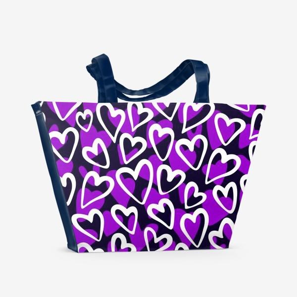 Пляжная сумка «90's Love»