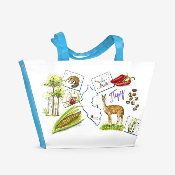 Пляжная сумка «ПЕРУ»