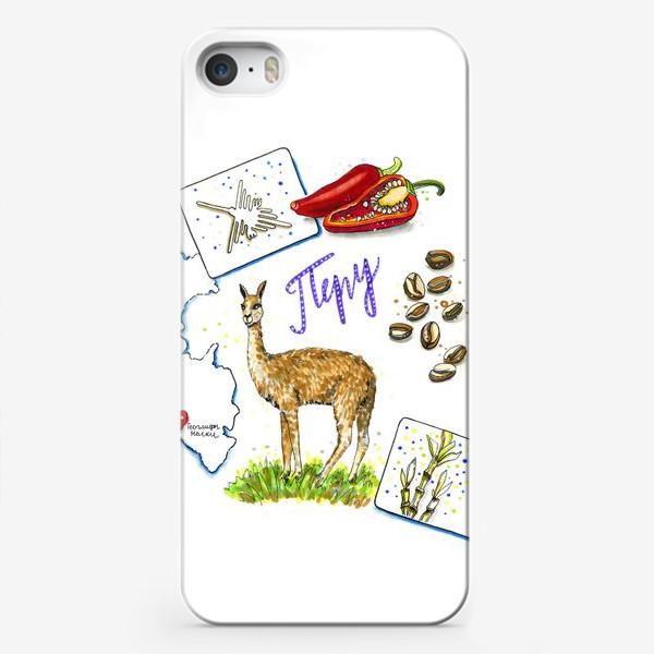Чехол iPhone «ПЕРУ»