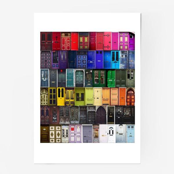 Постер «Двери из разных стран»