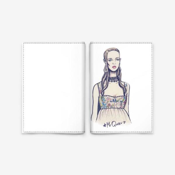 Обложка для паспорта «McQueen»