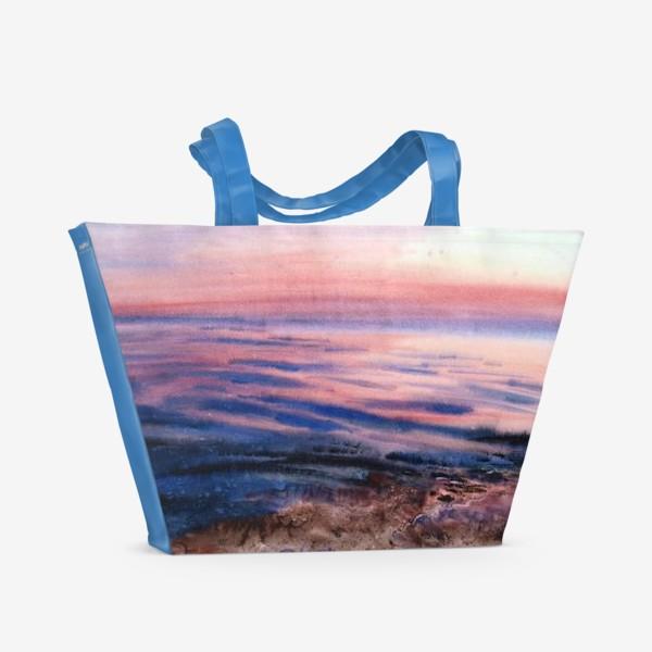Пляжная сумка «Вечернее море»