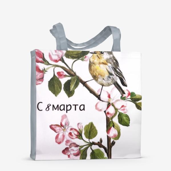 Сумка-шоппер «8 марта»