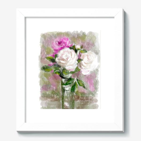 Картина «Акварельные розы»