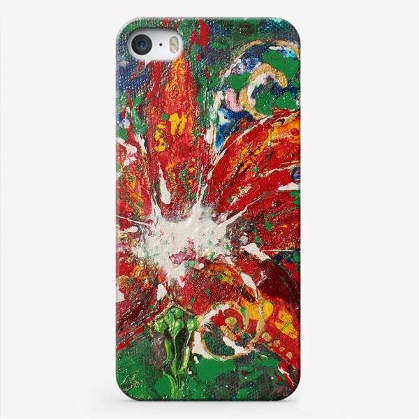 Чехол iPhone «Цветочек аленький»