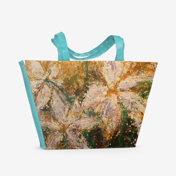 Пляжная сумка «Радость встречи»