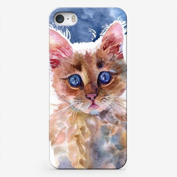 Чехол iPhone «Рыжий котенок»