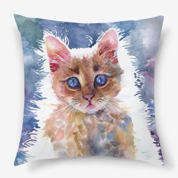 Подушка «Рыжий котенок»