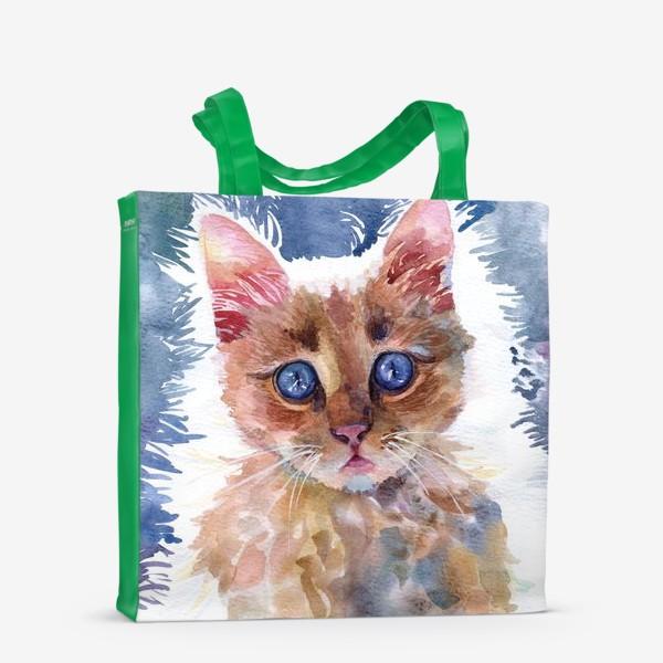 Сумка-шоппер «Рыжий котенок»