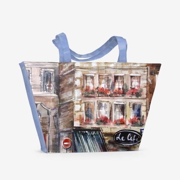 Пляжная сумка «Paris Street»