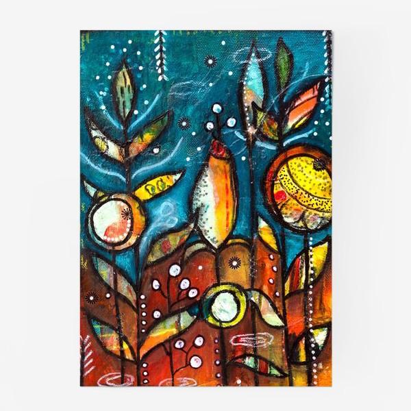 Постер «Волшебный сад.»