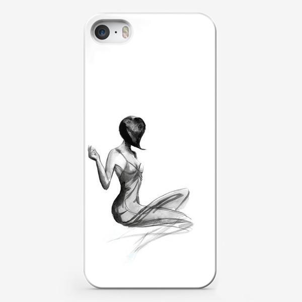 Чехол iPhone «Девушка в стиле ретро»