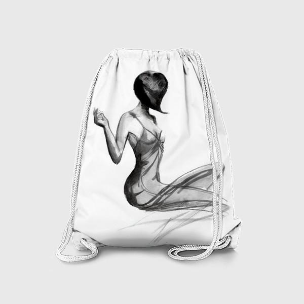 Рюкзак «Девушка в стиле ретро»