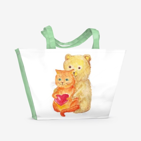 Пляжная сумка «Любовь»
