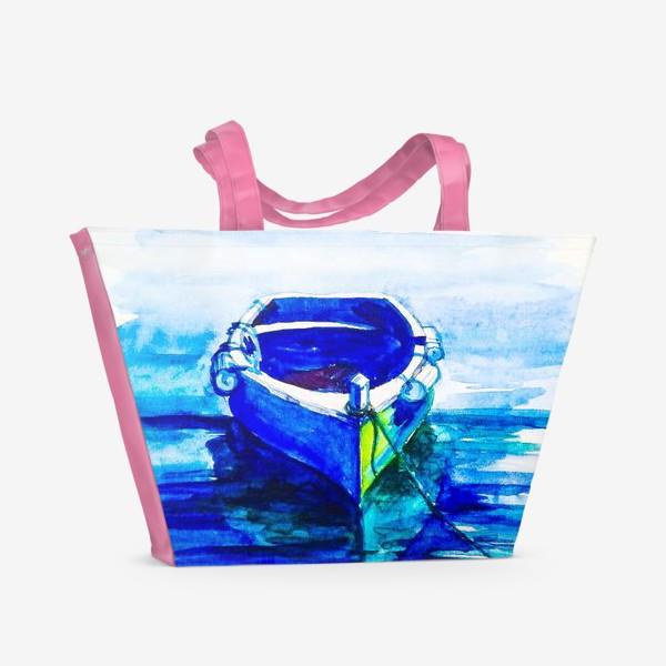 Пляжная сумка «Лодка»