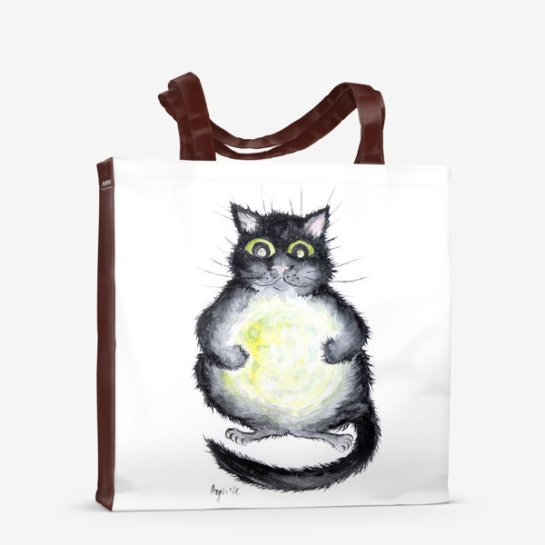 Сумка-шоппер «Луна в лапах»