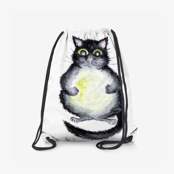 Рюкзак «Луна в лапах»