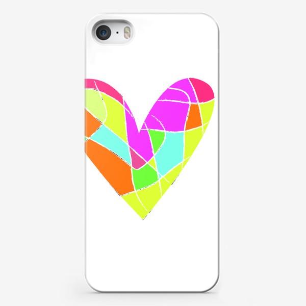 Чехол iPhone «Мозаичное сердце»