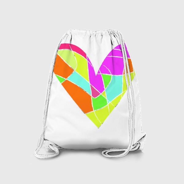Рюкзак «Мозаичное сердце»