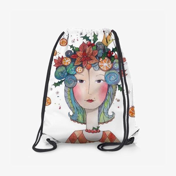 Рюкзак «Принцесса уходящего года.»
