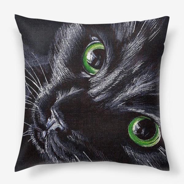 Подушка «Черный кот»