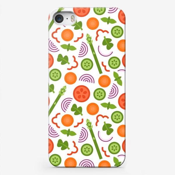 Чехол iPhone «Овощное танго»