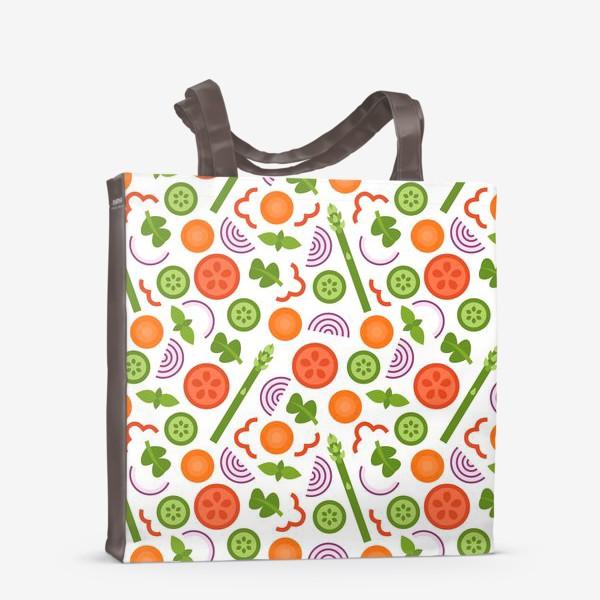 Сумка-шоппер «Овощное танго»