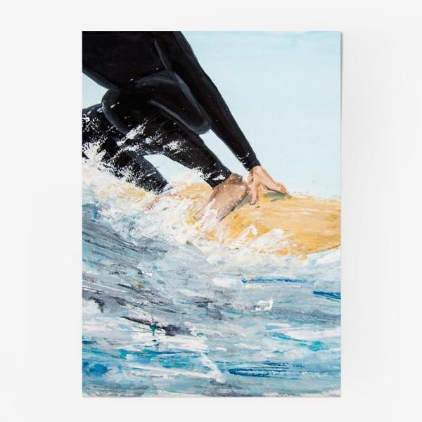 Постер «серфер»