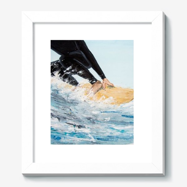 Картина «серфер»
