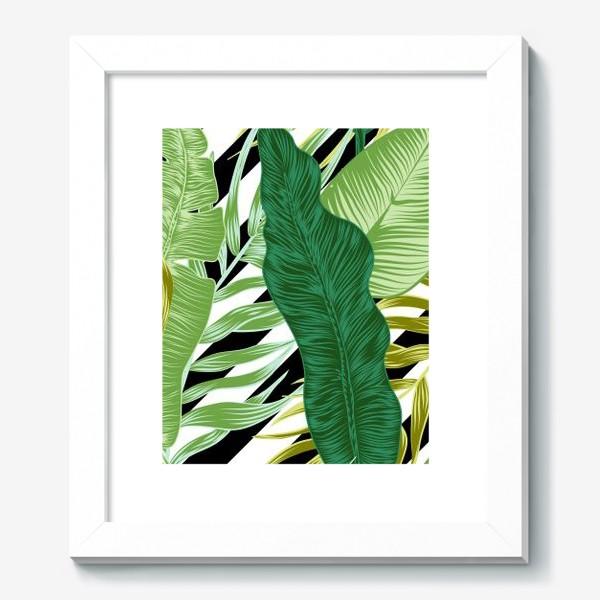 Картина «tropical pattern»