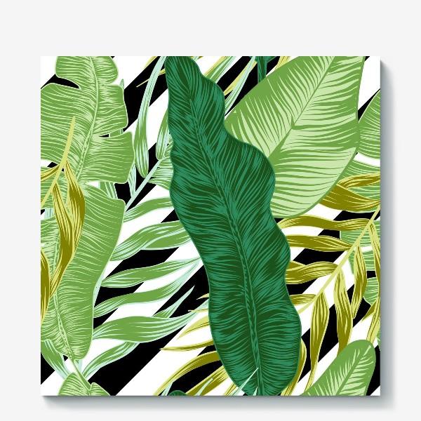 Холст «tropical pattern»