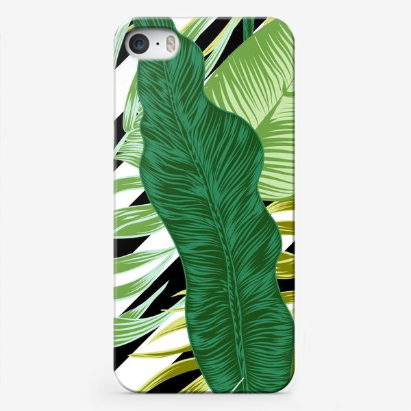 Чехол iPhone «tropical pattern»