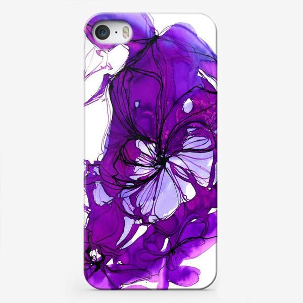 Чехол iPhone «violet»