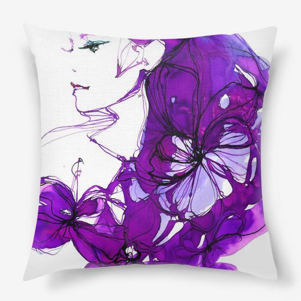 Подушка «violet»