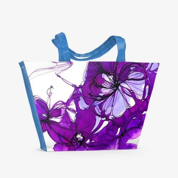 Пляжная сумка «violet»