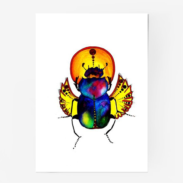Постер «Солнечный скоробей»