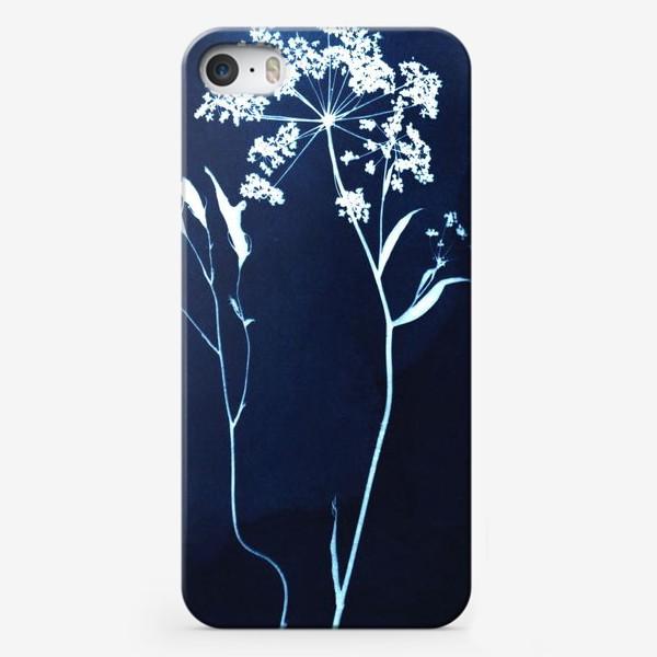 Чехол iPhone «Сухие цветы »