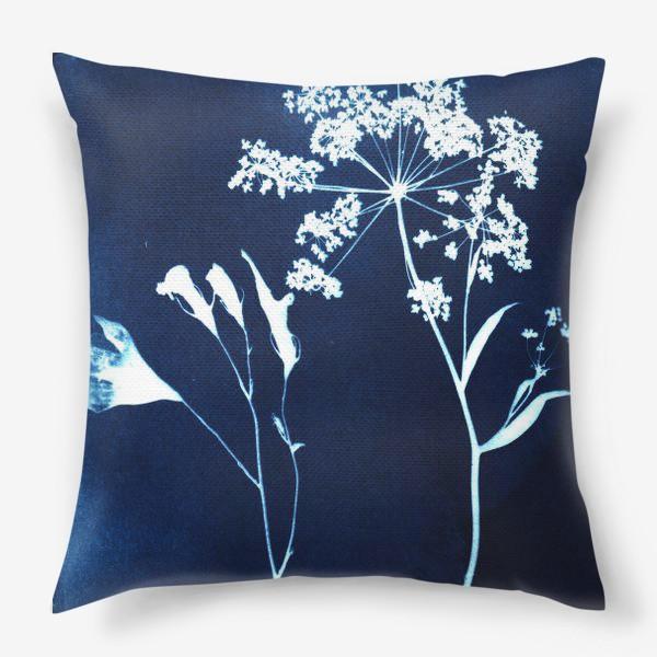 Подушка «Сухие цветы »